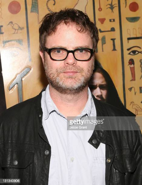 """Actor Rainn Wilson attends the """"Hesher"""" Los Angeles Special Screening at the Vista Theatre on May 1, 2011 in Los Angeles, California."""