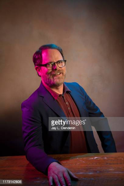 Actor Rainn Wilson from 'Blackbird' is photographed for Los Angeles Times on September 6 2019 at the Toronto International Film Festival in Toronto...