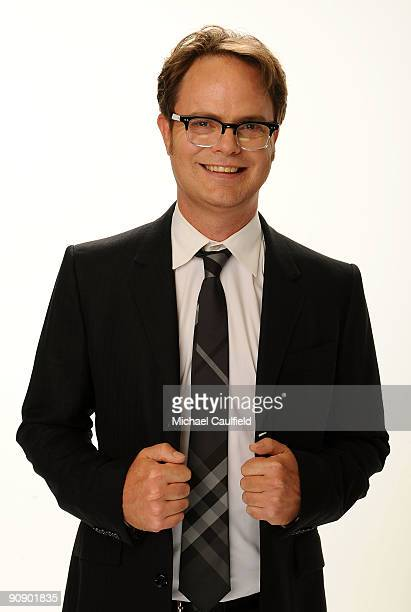 Actor Rainn Wilson poses at the 2009 ALMA Awards held at Royce Hall on September 17 2009 in Los Angeles California