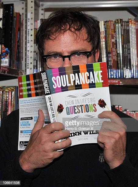 Actor Rainn Wilson promotes SoulPancake at Strand Bookstore on November 8 2010 in New York City