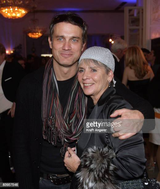 Actor Ralf Bauer and director Heidi Kranz attends the Movie Meets Media event on December 08 2008 in Hamburg Germany