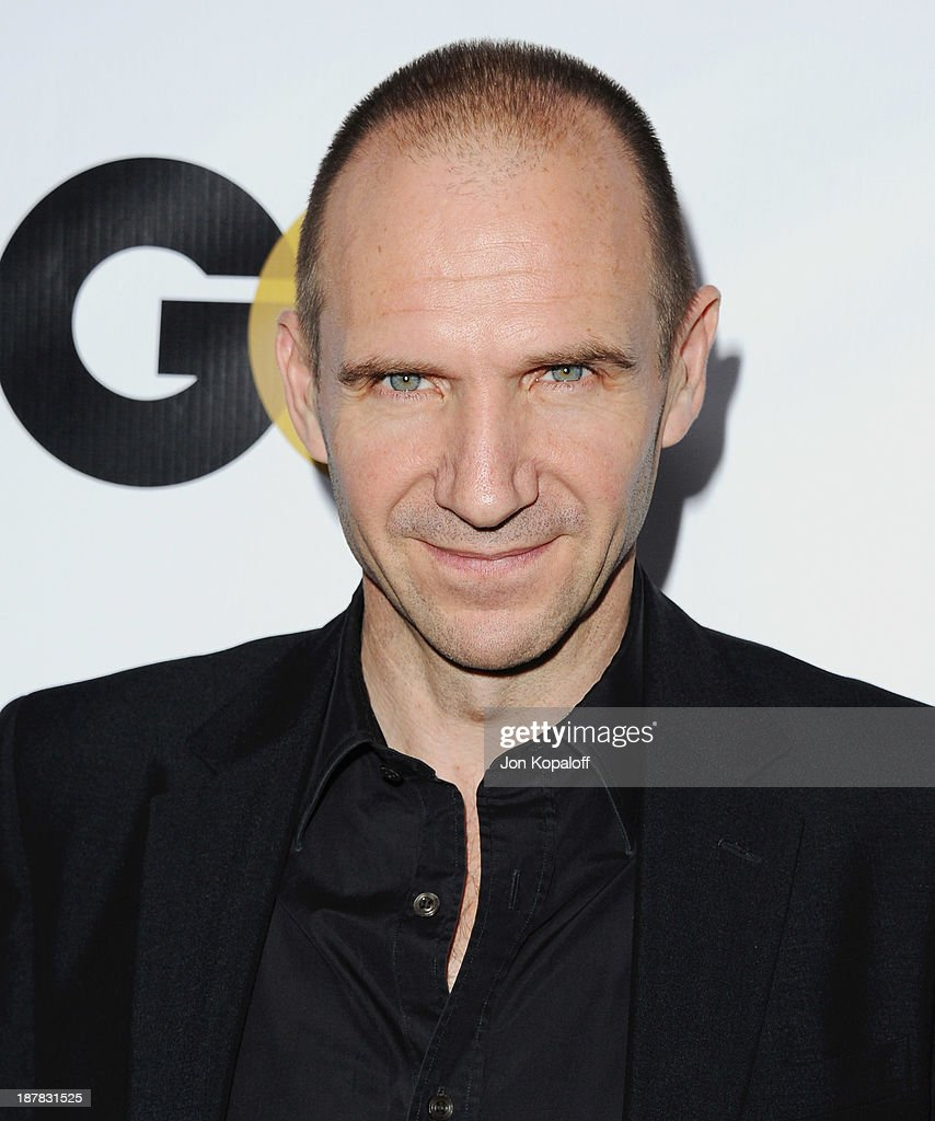 Actor Ralph Fiennes arrives at GQ Celebrates The 2013 'Men Of The Year' at The Wilshire Ebell Theatre on November 12, 2013 in Los Angeles, California.