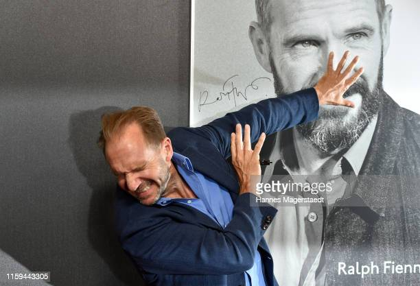 Actor Ralph Fiennes at the CineMerit Gala for Ralph Fiennes during the Munich Film Festival at Gasteig on July 01 2019 in Munich Germany British...