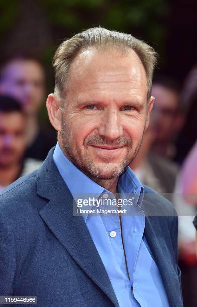 Actor Ralph Fiennes at the CineMerit Gala for Ralph Fiennes during the Munich Film Festival at Gasteig on July 01, 2019 in Munich, Germany. British...