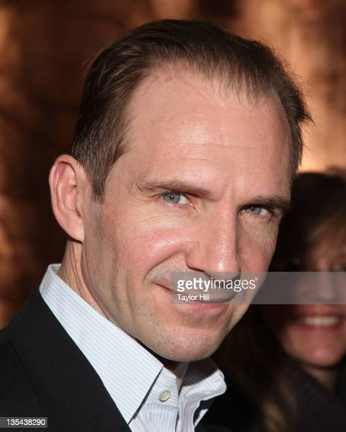 Actor Ralph Fiennes attends the 2011 Shakespeare Society Medal presentation at the Rubin Museum of Art on December 9 2011 in New York City