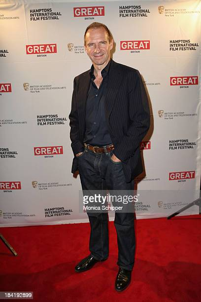 Actor Ralph Fiennes attends the 21st Annual Hamptons International Film Festival on October 11, 2013 in East Hampton, New York.