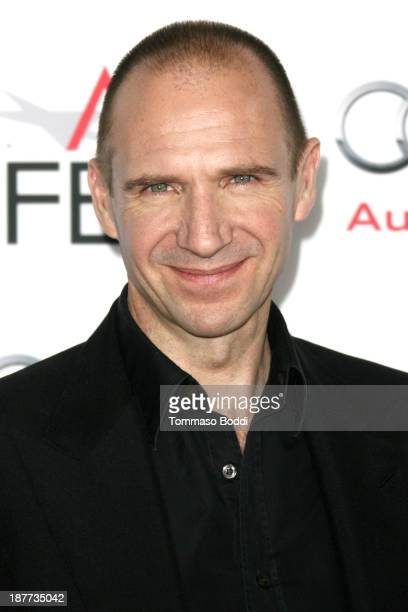 Actor Ralph Fiennes attends the AFI FEST 2013 presented by Audi 'Nebraska' premiere held at TCL Chinese Theatre on November 11 2013 in Hollywood...