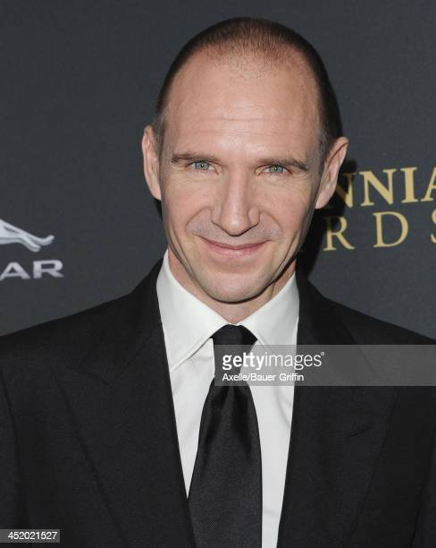 Actor Ralph Fiennes attends the BAFTA Los Angeles Britannia Awards at The Beverly Hilton Hotel on November 9, 2013 in Beverly Hills, California.