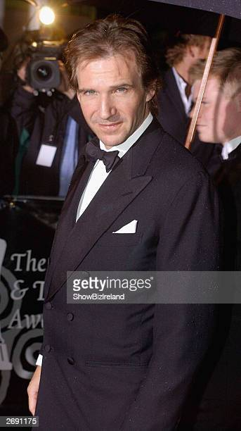Actor Ralph Fiennes attends the Irish Film and Television Awards at the Burlington Hotel on November 1 2003 in Dublin Ireland