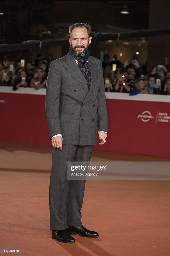 Actor Ralph Fiennes attends the premiere of the movie 'The English Patient' during 11th Rome Film Festival at Auditorium Parco della Musica in Rome, Italy on October 22, 2016.