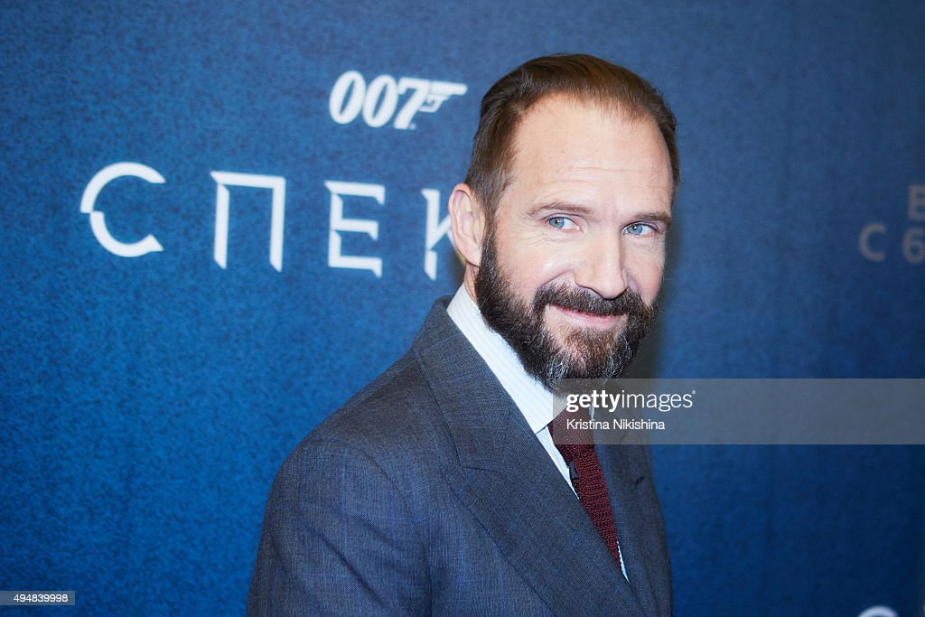 Actor Ralph Fiennes attends the 'Spectre 007' Moscow premiere in Oktyabr cinema hall on October 29, 2015 in Moscow, Russia.
