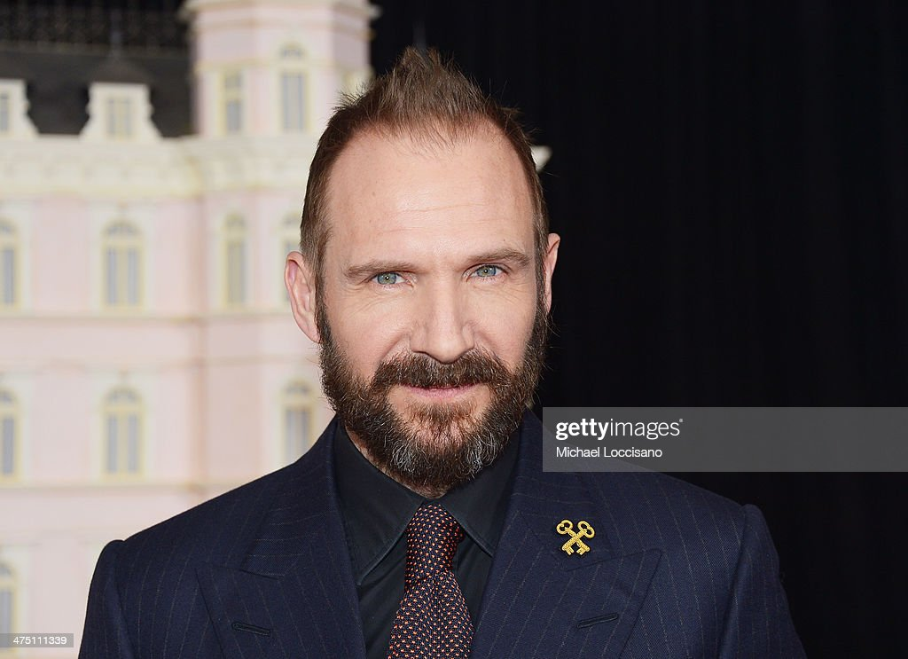 Actor Ralph Fiennes attends the 'The Grand Budapest Hotel' New York Premiere at Alice Tully Hall on February 26, 2014 in New York City.
