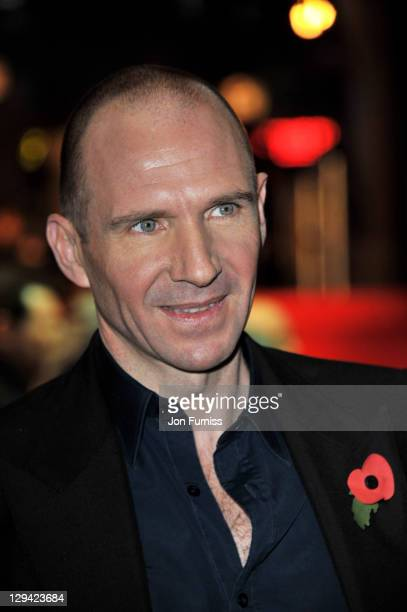 Actor Ralph Fiennes attends the world premiere of Harry Potter and The Deathly Hallows at Odeon Leicester Square on November 11 2010 in London England