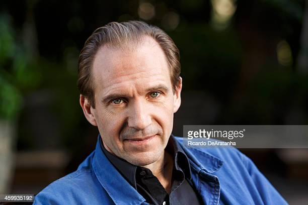 Actor Ralph Fiennes is photographed for Los Angeles Times on November 10 2014 in Beverly Hills California PUBLISHED IMAGE CREDIT MUST READ Ricardo...