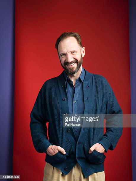 Actor Ralph Fiennes is photographed for the Observer on January 12 2016 in London England