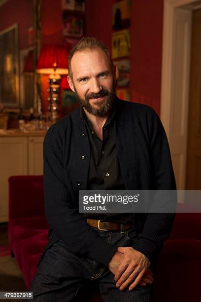Actor Ralph Fiennes is photographed for USA Today on February 26 2014 in New York City PUBLISHED IMAGE
