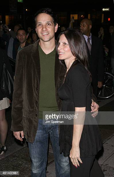 Actor Ralph Macchio and wife Phyllis Fierro attend The Cinema Society A Diamond Is Forever screening of The Private Lives Of Pippa Lee at AMC Loews...