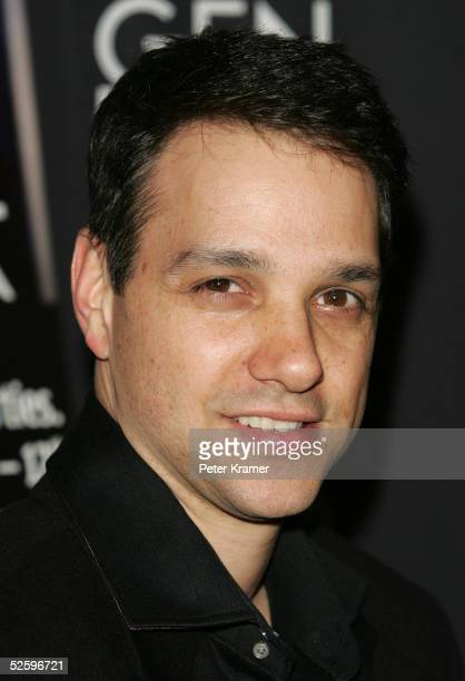 """Actor Ralph Macchio attends The Tenth Annual Gen Art Film Festival Screening Of """"Loverboy"""" at the Ziegfeld Theatre April 6, 2005 in New York City."""