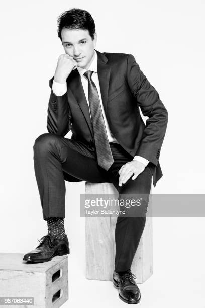 Actor Ralph Macchio is photographed for Sports Illustrated on May 1 2018 in New York City CREDIT MUST READ Taylor Ballantyne/Sports...