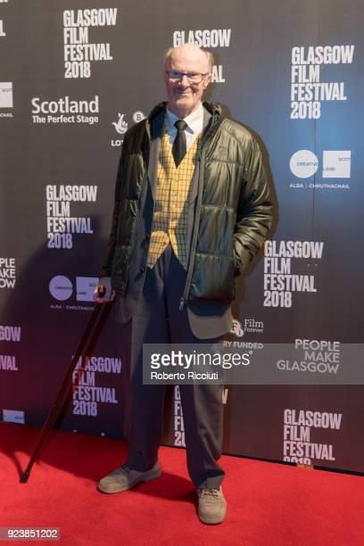 Actor Ralph Riach attends the World Premiere of 'The Party's Just Beginning' during the 14th Glasgow Film Festival at Glasgow Film Theatre on...