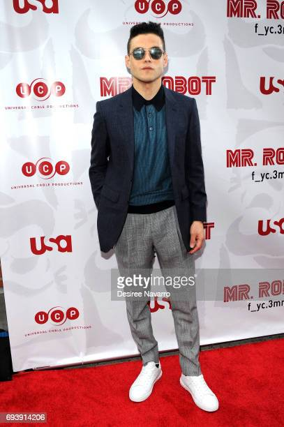 Actor Rami Malek attends 'Mr Robot' FYC Screening at The Metrograph on June 8 2017 in New York City