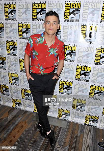 Actor Rami Malek attends 'Mr Robot' Press Line during ComicCon International 2016 at Hilton Bayfront on July 23 2016 in San Diego California