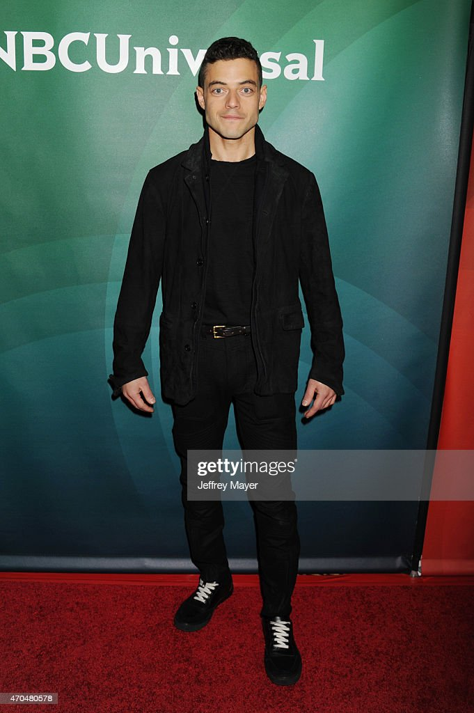 Actor Rami Malek attends the 2015 NBCUniversal Summer Press Day held at the The Langham Huntington Hotel and Spa on April 02, 2015 in Pasadena, California.