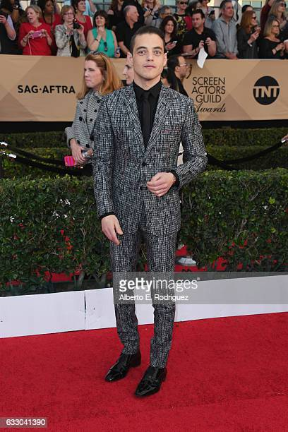 Actor Rami Malek attends the 23rd Annual Screen Actors Guild Awards at The Shrine Expo Hall on January 29 2017 in Los Angeles California