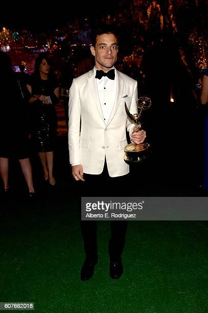 Actor Rami Malek attends the 68th Annual Primetime Emmy Awards Governors Ball at Microsoft Theater on September 18, 2016 in Los Angeles, California.