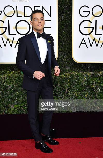 Actor Rami Malek attends the 74th Annual Golden Globe Awards at The Beverly Hilton Hotel on January 8 2017 in Beverly Hills California