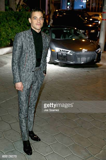 Actor Rami Malek attends The Weinstein Company Netflix's SAG 2017 After Party presented by Audi at Sunset Tower Hotel on January 29 2017 in West...