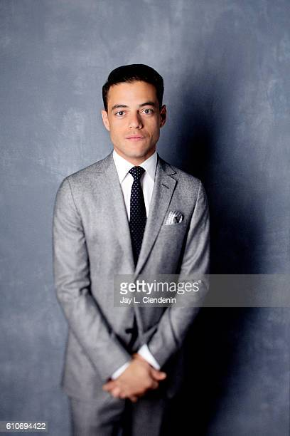 Actor Rami Malek from the film 'Buster's Mal Hear' poses for a portraits at the Toronto International Film Festival for Los Angeles Times on...