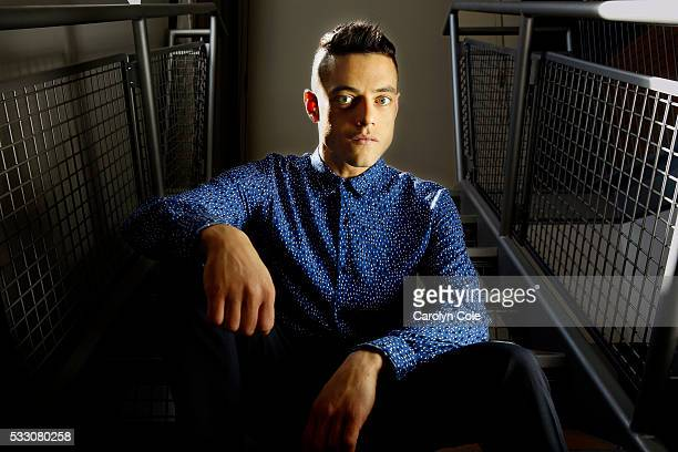 Actor Rami Malek is photographed for Los Angeles Times on April 24 2016 in New York City PUBLISHED IMAGE CREDIT MUST READ Carolyn Cole/Los Angeles...