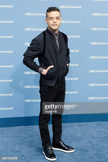 Actor Rami Malek of 'Mr Robot' on USA Network attends the NBCUniversal 2016 Upfront on May 16 2016 in New York New York