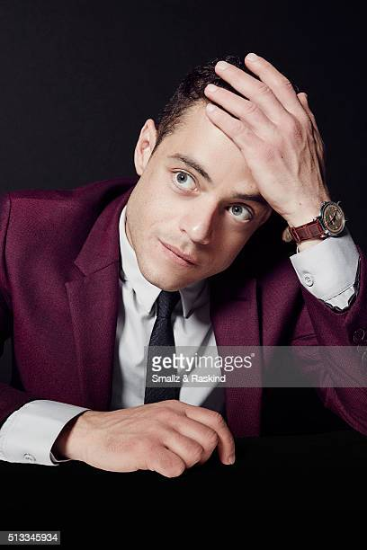 Actor Rami Malek poses for a portrait at the 2016 Film Independent Spirit Awards on February 27 2016 in Santa Monica California