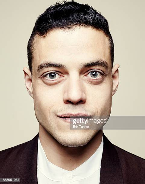 Actor Rami Malek poses for a portrait at the 75th Annual Peabody Awards Ceremony at Cipriani Wall Street on May 21 2016 in New York City
