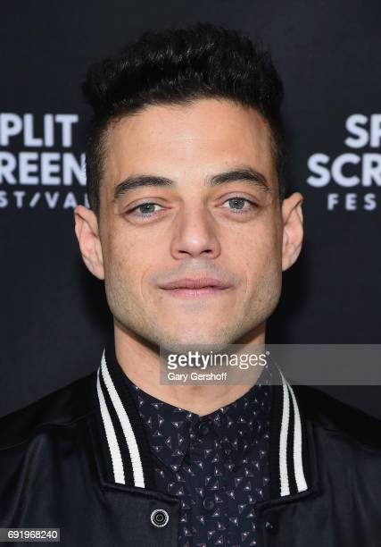 Actor Rami Malik attends the 'Mr Robot' Close Up with Rami Malek during the 2017 IFC Split Screens Festival at with Rami Malek at IFC Center on June...