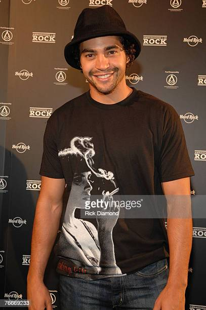 Actor Ramon Rodriguez arrives on The Green Carprt for The Launch of the Sustainable Biodiesel Alliance at the Hard Rock Cafe in New York City on...