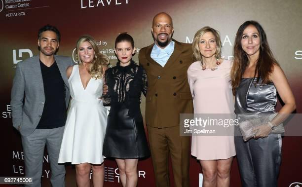 Actor Ramon Rodriguez US Marine corporal veteran Megan Leavey actress Kate Mara actor/rapper Common actress Edie Falco and director Gabriela...