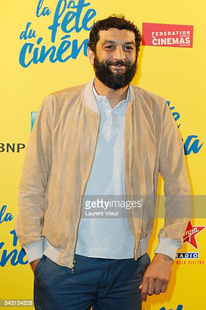 Actor Ramzy Bedia attends the 32nd 'Fete du Cinema' launch at UGC Cine Cite Bercy on June 26 2016 in Paris France