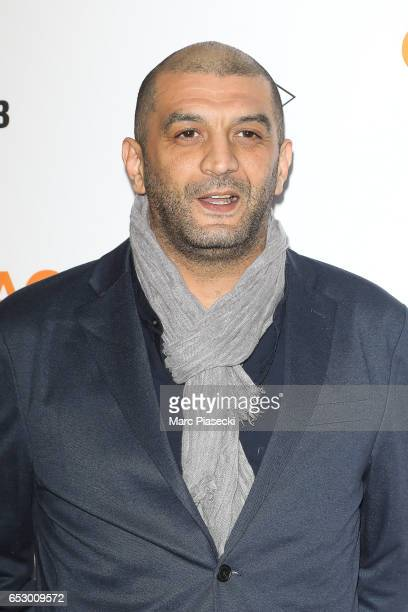 Actor Ramzy Bedia attends the 'Chacun sa vie' Premiere at Cinema UGC Normandie on March 13 2017 in Paris France