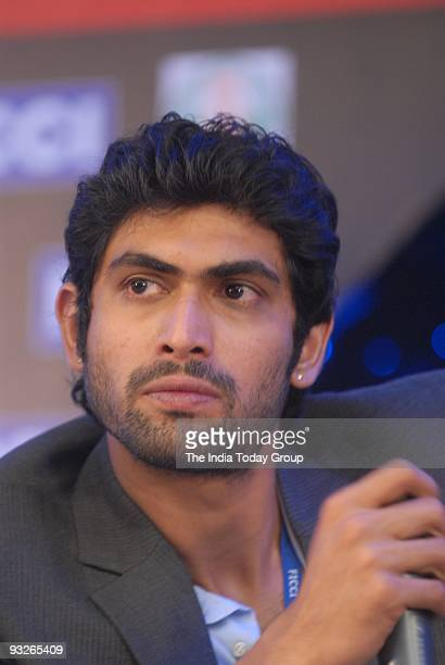 Actor Rana Daggubati at the Media and Entertainment Business Conclave in Chennai on Thursday November 19 2009