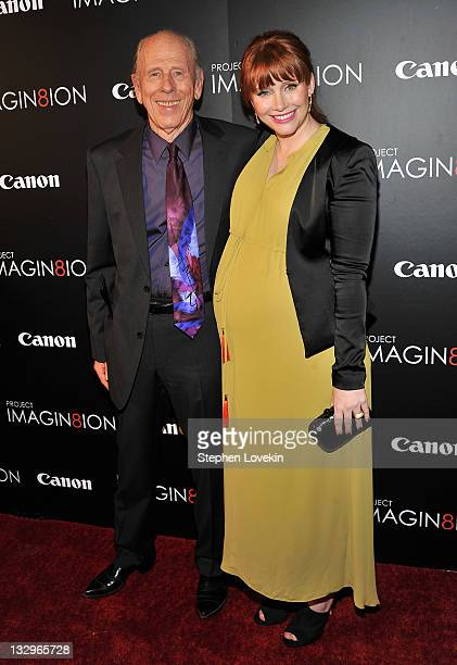 Actor Rance Howard and director Bryce Dallas Howard attend the 'Long Live Imagination' campaign screening of 'When You Find Me' at the American...