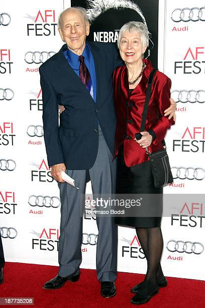Actor Rance Howard and Judy Howard attend the AFI FEST 2013 presented by Audi 'Nebraska' premiere held at TCL Chinese Theatre on November 11 2013 in...