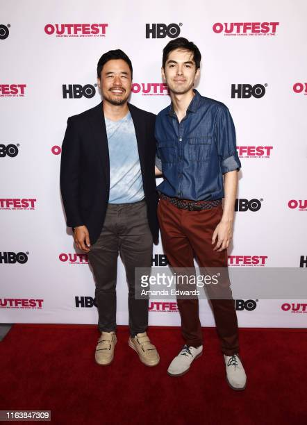 Actor Randall Park and writer / director James Sweeney arrive at the 2019 Outfest Los Angeles LGBTQ Film Festival Breakthrough Centerpiece Screening...