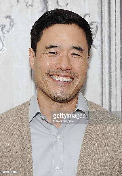 Actor Randall Park attends AOL Build to discuss his show 'Fresh Off the Boat' at AOL Studios on September 21 2015 in New York City