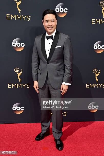 Actor Randall Park attends the 68th Annual Primetime Emmy Awards at Microsoft Theater on September 18 2016 in Los Angeles California