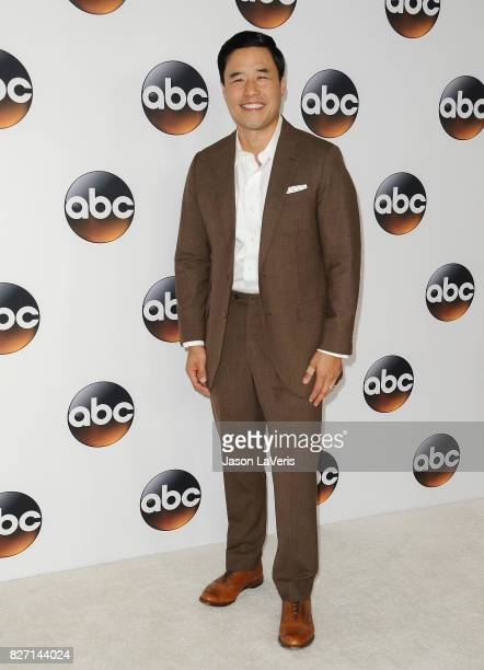 Actor Randall Park attends the Disney ABC Television Group TCA summer press tour at The Beverly Hilton Hotel on August 6 2017 in Beverly Hills...