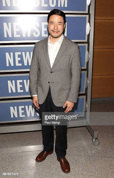 Actor Randall Park attends the Fresh Off The Boat Washington DC Screening at The Newseum on January 21 2015 in Washington DC