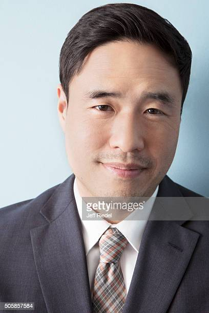 Actor Randall Park is photographed for TV Guide Magazine on January 14 2015 in Pasadena California